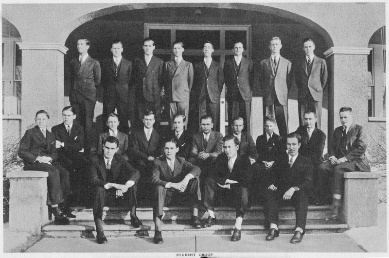 1933 School Portrait